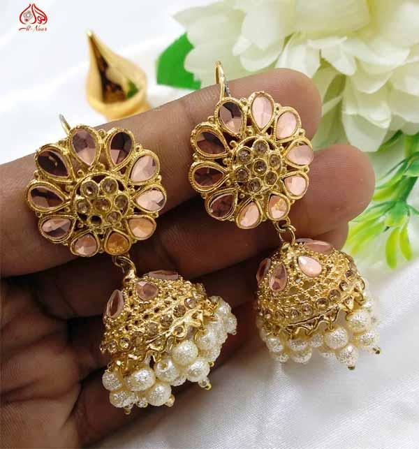 Stylish Round Shape Earrings For Women (JL-36)