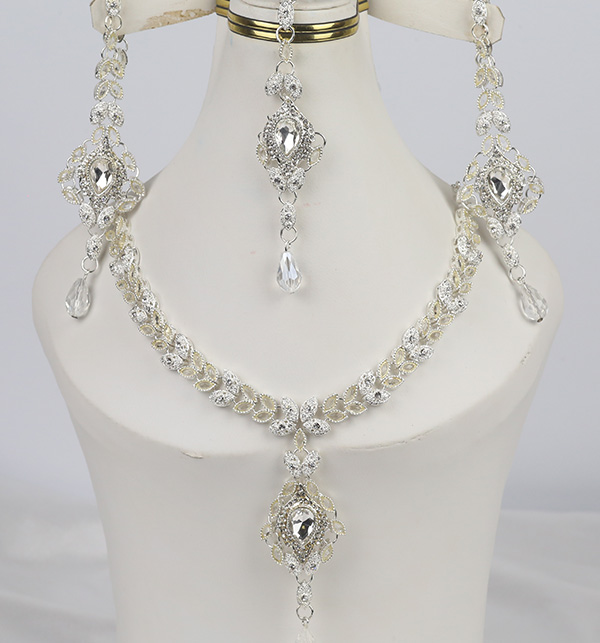 Stylish Silver Jewelry Set Design 2021 For Women (PS-355)