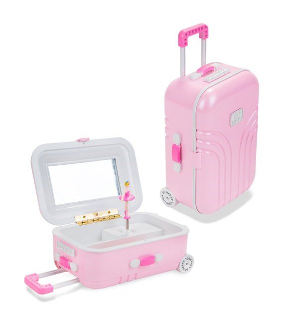 Suitcase Jewellery Box