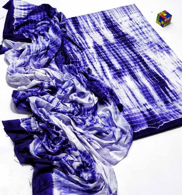 Tie & Dye Lawn 2 Piece Dress (Unsicthed) (DRL-943)