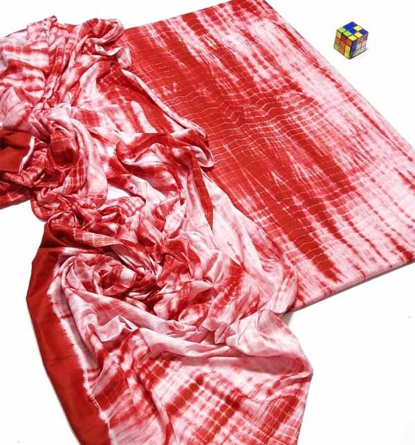 Tie & Dye 2 Piece Dress (Unsicthed) (DRL-945)