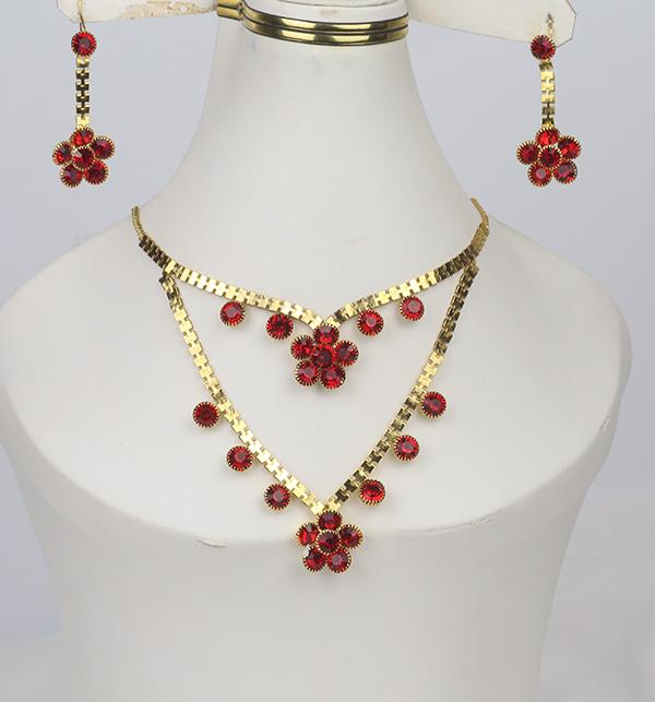 Turkish Golden Jewelry Set Design For Women (PS-363)