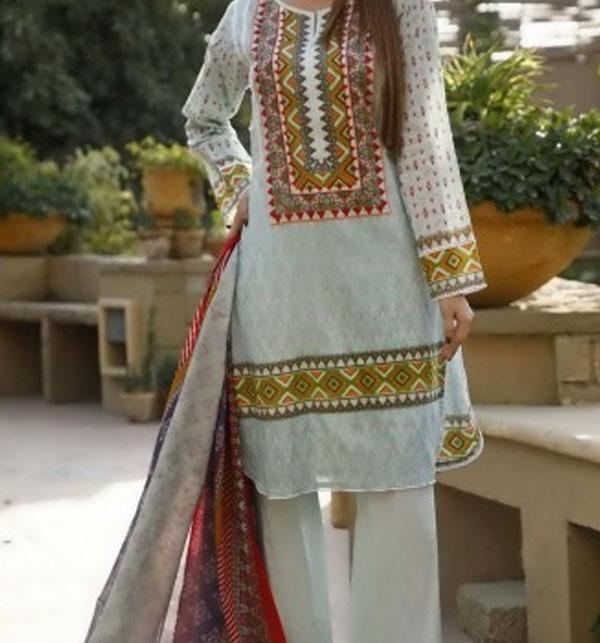 VS CLASSIC LAWN Suit With Printed Lawn Dupatta VOL-1 (103-B)