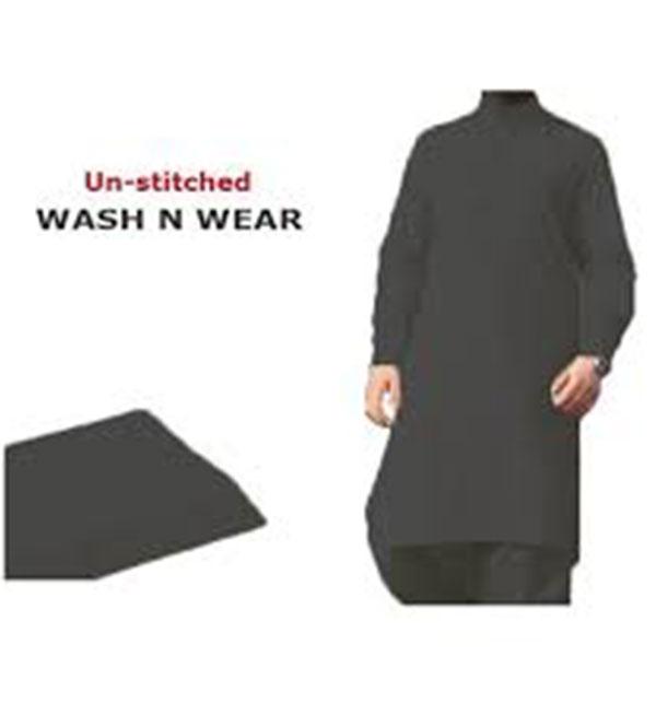 Wash n Wear Men's Kameez Shalwar Unstitched (MSK-37)