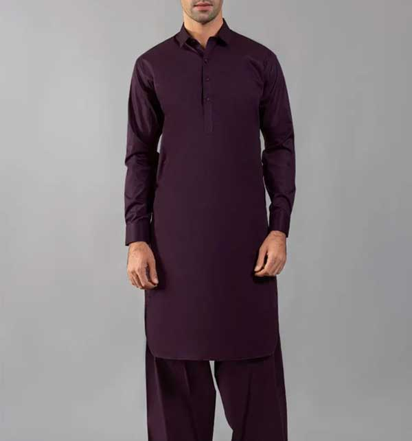 Wash n Wear Unstitched Eid Collection Men's Shalwar Kameez 2021 (MSK-80)