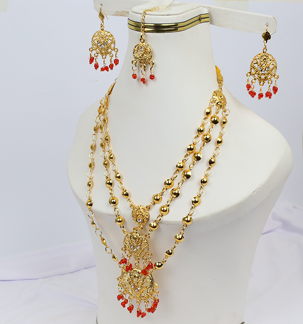 (DEAL OF THE DAY) Wedding Artificial Jewelry Sets Design  (PS-214)