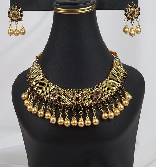Wedding Multi Color Jewellery Set  2021  (PS-255)