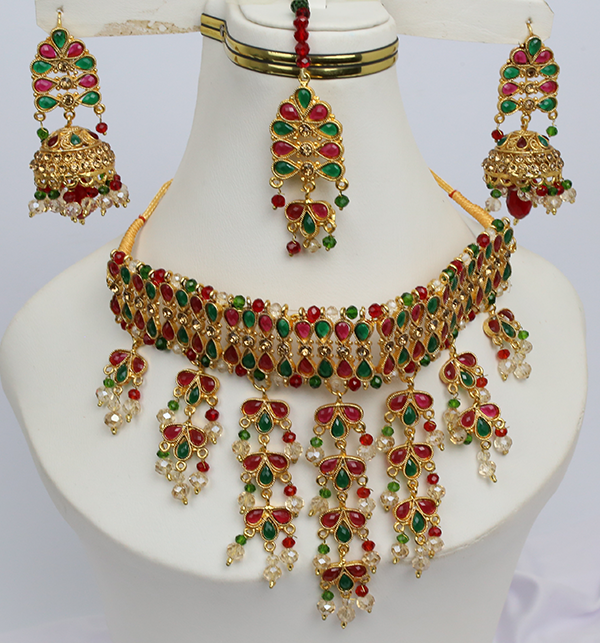 Bridal Heavy Jewelry Sets Design (PS-216)