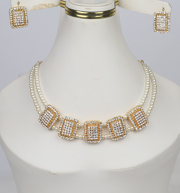 White Pearl Jewelry Sets (PS-366)