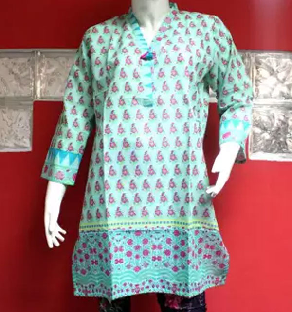 1a6dc0d970a Stylish Kurti Designs 2019 in Pakistan For Girls