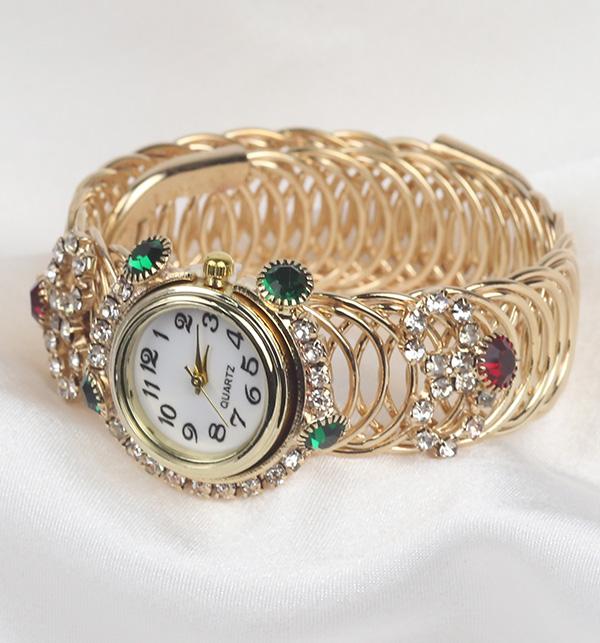 Women's Bracelet Gold Watches (BH-50)