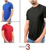 Pack of 3 Summer Collection Men's T-shirts 2019 (DT-11)